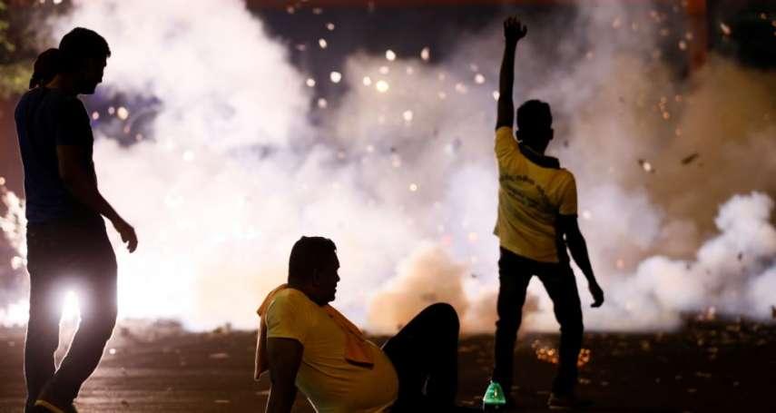 斯里蘭卡萬人抗議政府「賣國」:強租99年!重要戰略港口被中國搶走
