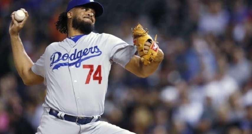 MLB》簡森心律不整不隨隊 道奇與洛磯對決少守護神