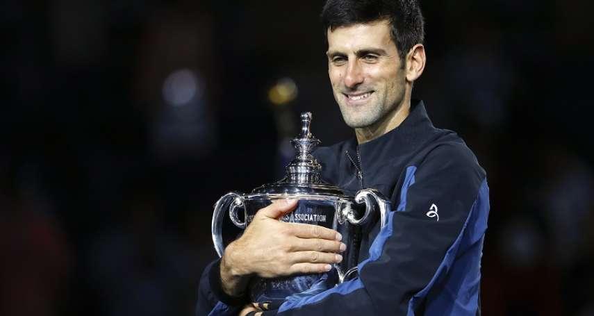 網球》喬科維奇直落三迪爾波卓 生涯第3座美網金盃
