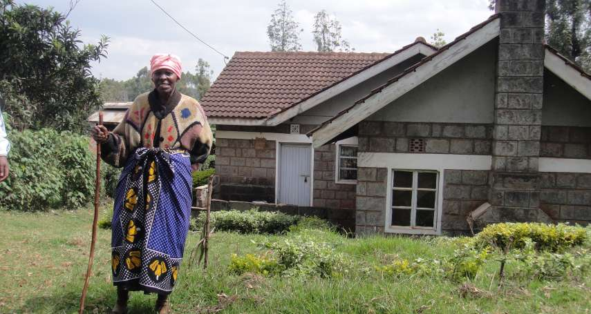 【謝幸吟專欄】一個86歲老奶奶,背後是一段肯亞對抗英國殖民統治的血淚史