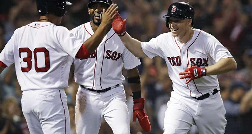 MLB》林子偉上場代跑 紅襪成為第一支取得季後賽資格球隊