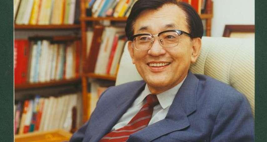 清大前校長沈君山辭世 享壽87歲