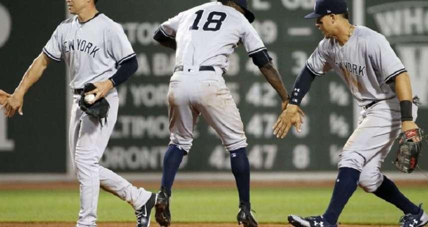 MLB》洋基小將火候不足 外卡第一寶座搖搖欲墜