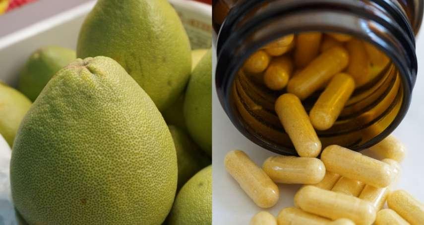 吃藥配柚子「超毒」!恐怕讓身體越來越糟…這張表告訴你哪些藥絕對不能碰