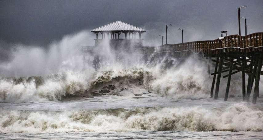 怪獸颶風「佛羅倫斯」釀18死 雨量破141年紀錄,橋樑、房屋慘遭滅頂