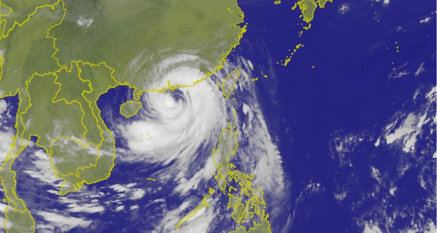 警戒尚未解除!颱風山竹挾帶外圍環流 花蓮、屏東嚴防豪大雨