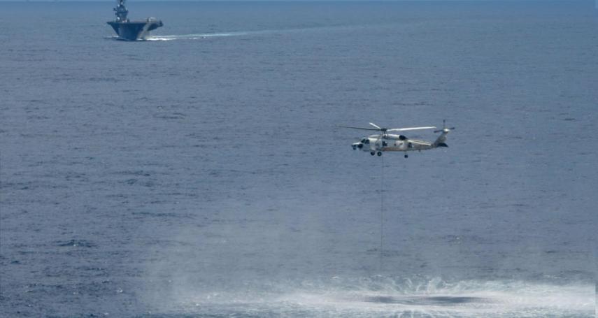 自衛隊潛艦首次前進南海軍演 日媒:罕見的極秘訓練,意在牽制中國