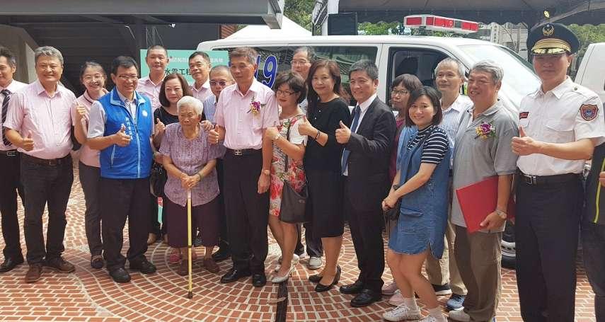 竹市各界聯合捐贈四部救護車 消防局基層救護戰力備增
