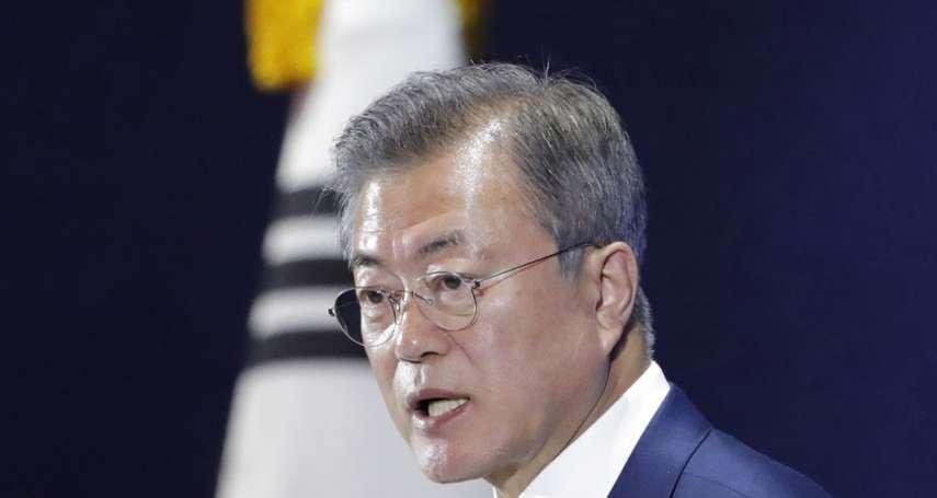 一度因跟金正恩會面,支持度高達83%的文在寅如今施政滿意度如何?韓國最新民調出爐