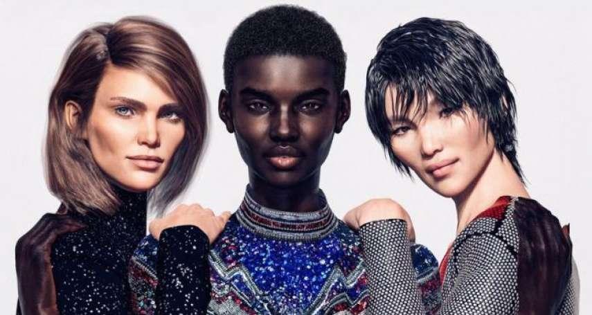 不是人也能當超模!搶進時尚名牌廣告的3位虛擬模特兒,會讓真人模特兒失業嗎?