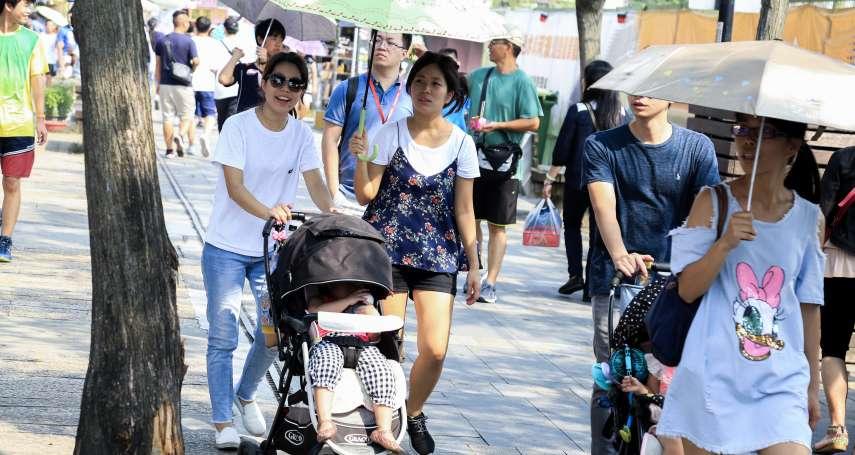世紀熱浪來襲!過去50年台灣夏天增加27天,2100年北區年均溫恐飆破27度C