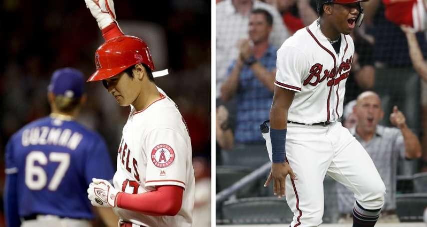 MLB》新人王最新預測 大谷、阿庫尼亞呼聲最高