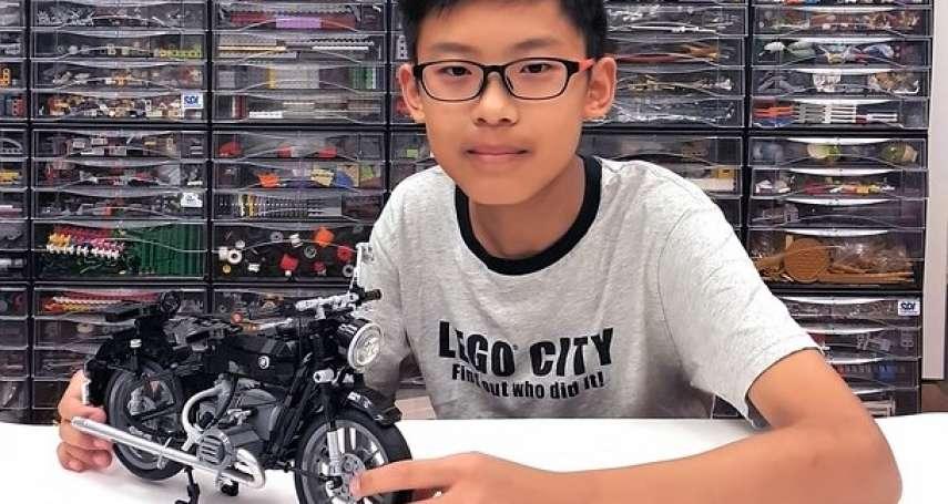 全球最年輕、還是台灣第一人!14歲小玩家「超強樂高作品」登LEGO ideas!老外驚嘆連連