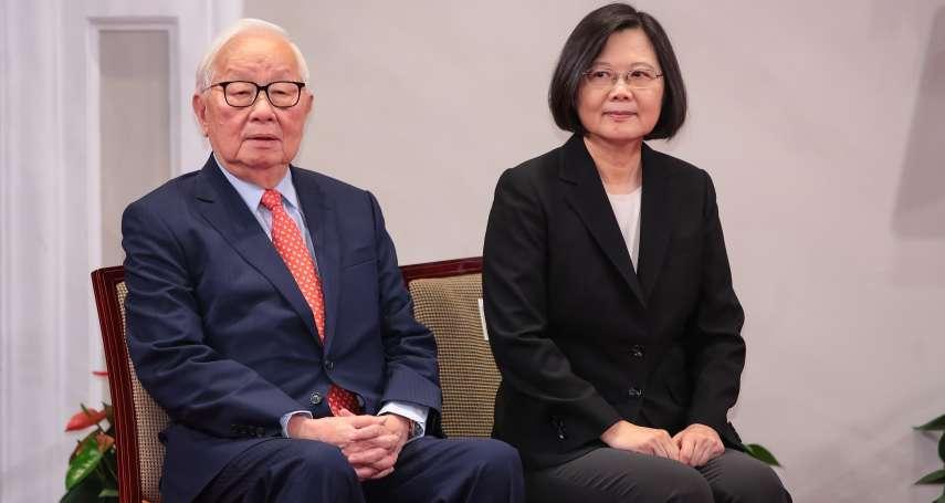 張忠謀擔任APEC領袖代表 陳水扁建議:蔡英文提供總統專機,以示尊崇