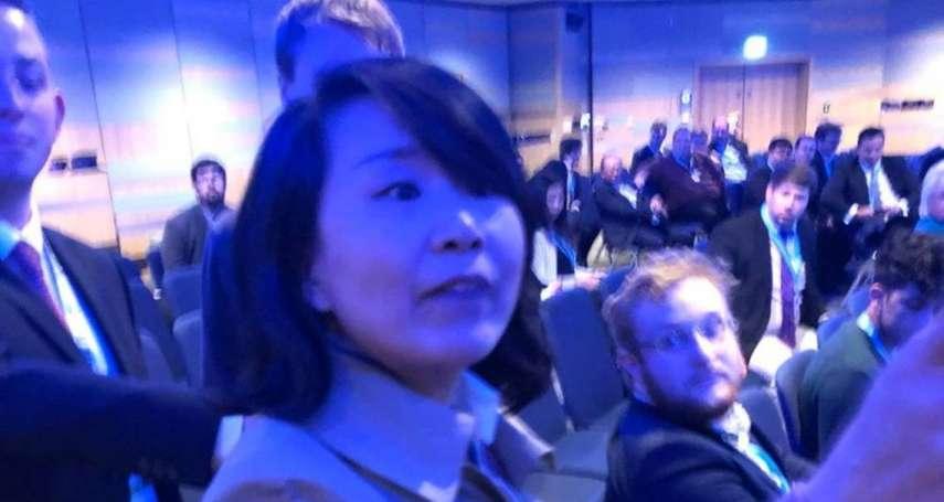 這就是英國民主!中國「撒潑村婦」央視記者孔琳琳打人大鬧後 正式遭英國警方起訴