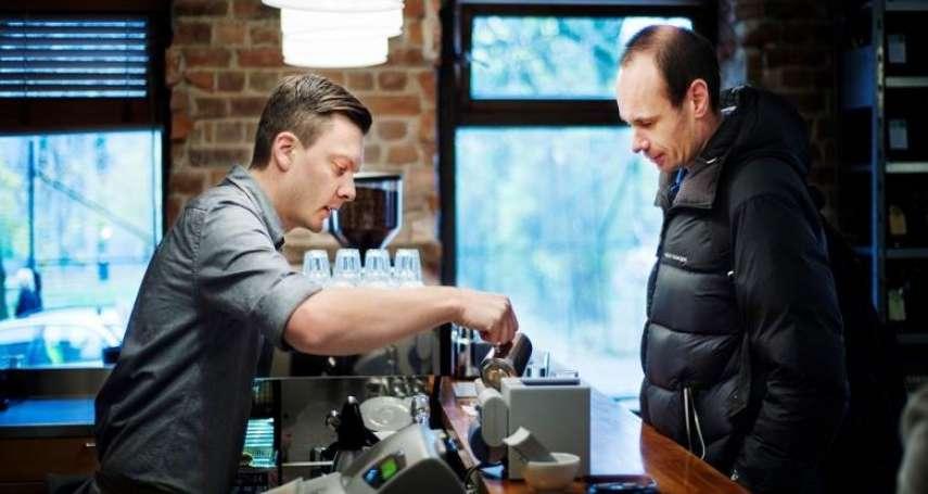 第三波咖啡潮來襲!挪威米其林餐廳裡樸實的精品咖啡