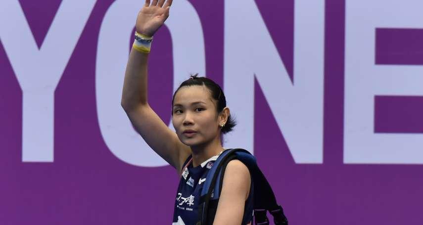 羽球》戴資穎力克奧原 收下新加坡賽第2冠