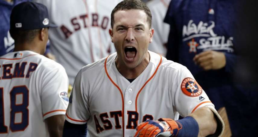 MLB季後賽》太空人柏格曼就是這麼6! 6轟成25歲以下三壘手第2人