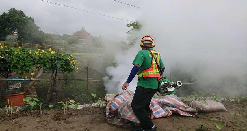 新北本土登革熱再添1例!冷氣工人爆群聚感染,將釐清可能感染地
