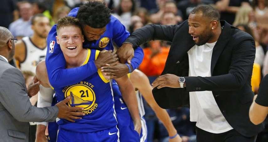 NBA》傑雷科補籃絕殺前東家 勇士1分之差氣死爵士