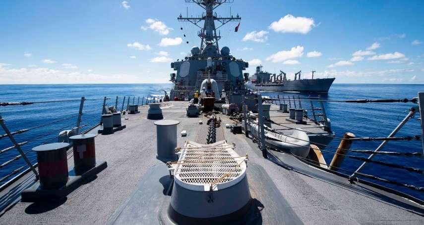 華爾街日報:美軍將再派軍艦通過台海 至少2艘、任務多天