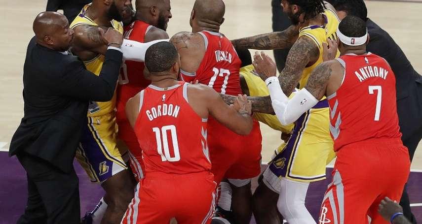 NBA》英格拉姆、朗多、保羅遭驅逐 火箭送湖人二連敗