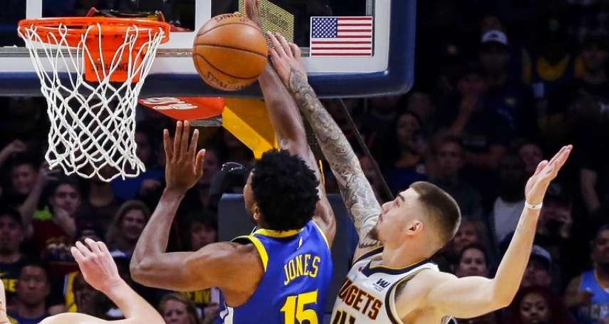 NBA》赫南高梅茲再見麻辣鍋 金塊兩分險勝勇士奪三連勝