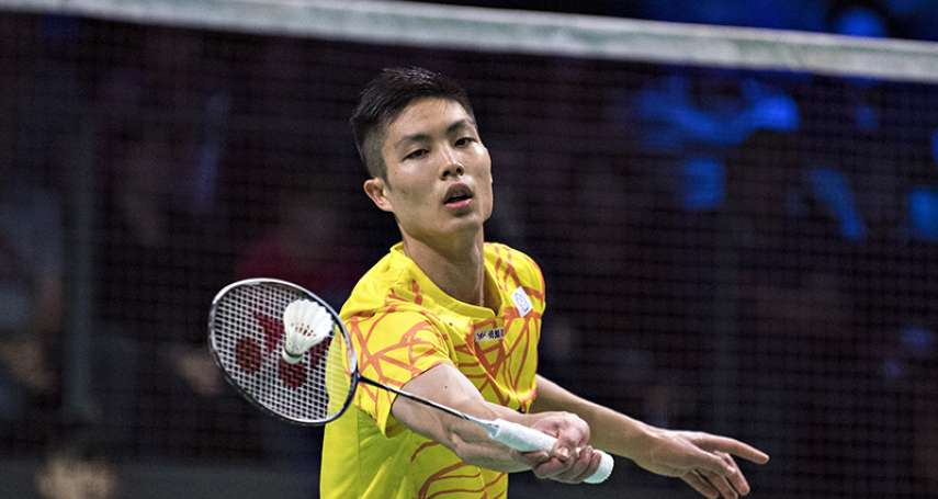 羽球》第2局化解3個賽末點 周天成逆轉挺進香港羽賽8強