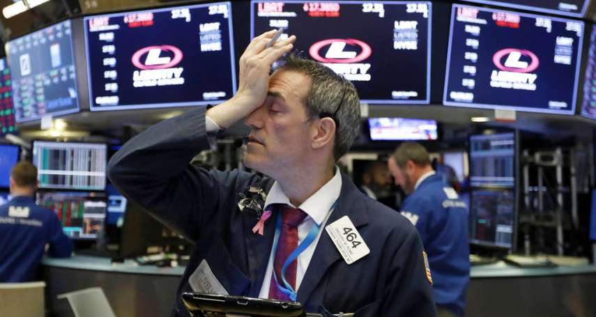 又見「黑色星期三」!道瓊暴跌608點:美股今年漲幅全沒了,那斯達克創7年最大跌幅