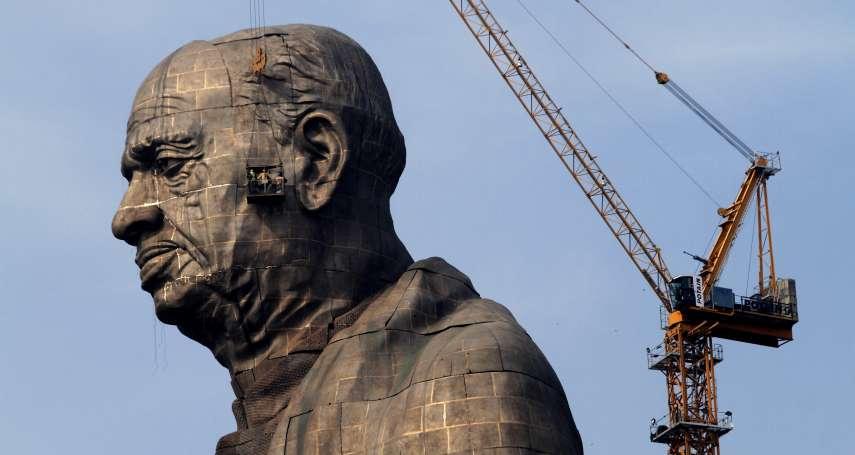 相當於2座自由女神!印度砸130億建全球最高雕像 農民怒嗆:說好的灌溉系統呢?