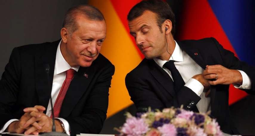 教師斬首案引爆外交爭端》艾爾多安譏馬克宏「該去看精神科」法國召回土耳其大使抗議