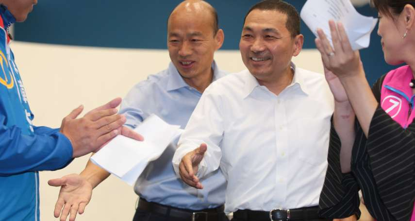 搖擺選民》遲未與韓國瑜同台,侯友宜打什麼算盤?新北「U型帶」18萬搖擺票左右總統大選