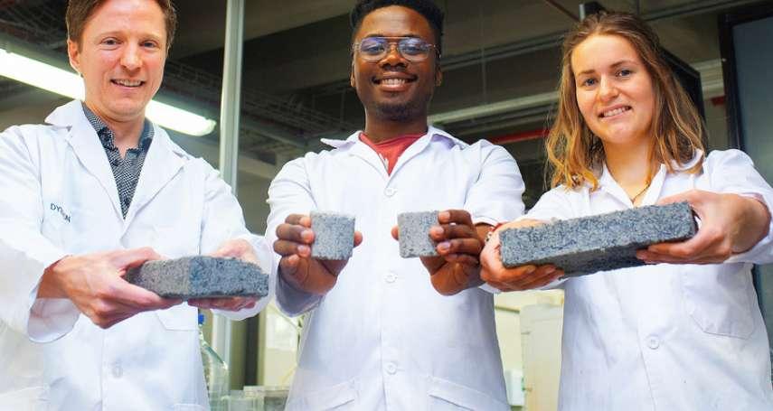 人尿竟能做磚頭?科學家首創超環保「尿磚技術」,成品堅固、耐用,製作過程超神奇!