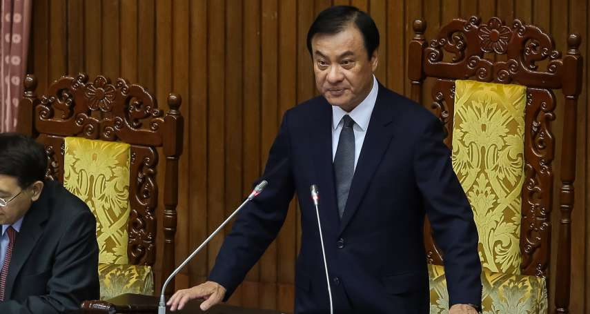 傳蘇嘉全辭立法院長參選黨主席 總統府否認