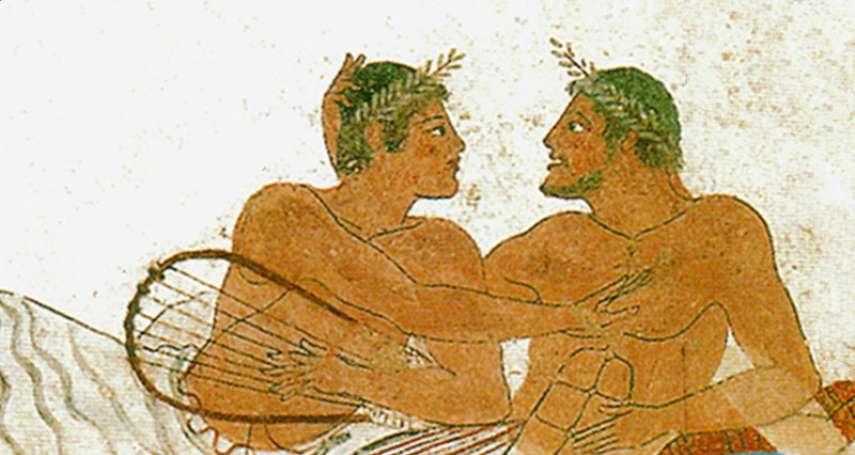 誰說異性戀是傳統價值?在古代男同性戀才高尚!大叔與少年的忘年戀,讓希臘三哲人都著迷