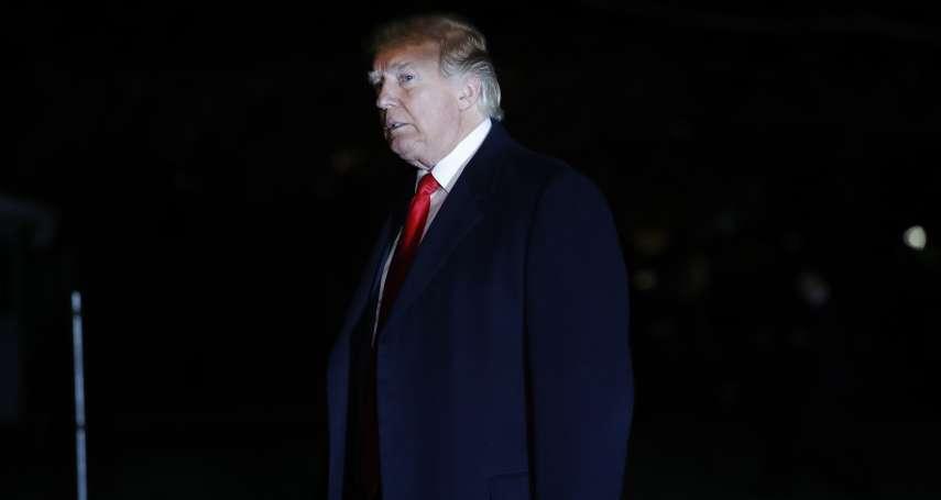 閻紀宇專欄:他不在選票上,卻是今年美國期中選舉最重要的「候選人」──川普總統