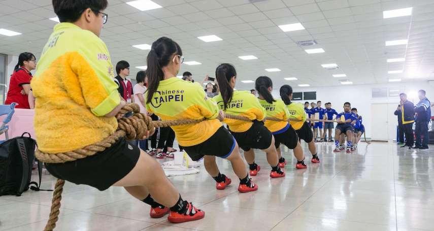 世界第三拔河隊伍訪台 台泰交流促成另類國際聯誼