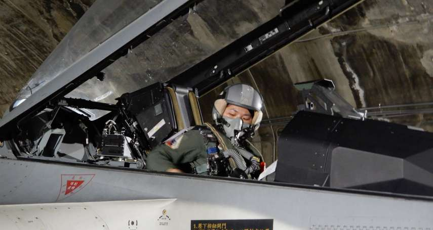 國軍女力崛起》IDF經國號戰機第一位女飛官 完成首次困難度高的「夜間單飛」