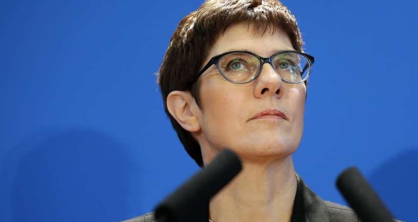 德國政情》改朝換代之際,她目標明確、保持淡定,她是不可低估「梅克爾的小姑娘」
