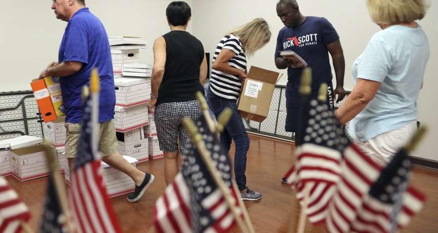 史上首次!佛羅里達州聯邦參議員、州長選舉同時重新計票 川普:有人想「作弊」,我們密切關注!