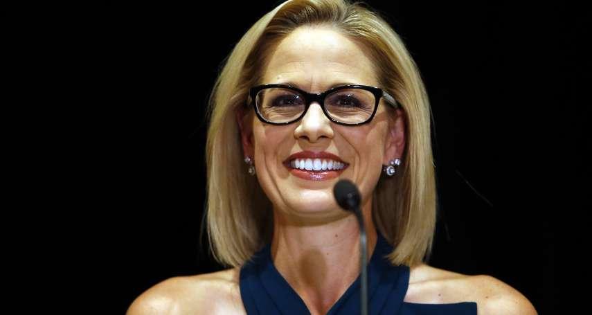 美國期中選舉》女將對決!出櫃雙性戀者擊敗戰鬥機飛行員 民主黨終於攻下共和黨堡壘──亞利桑那州