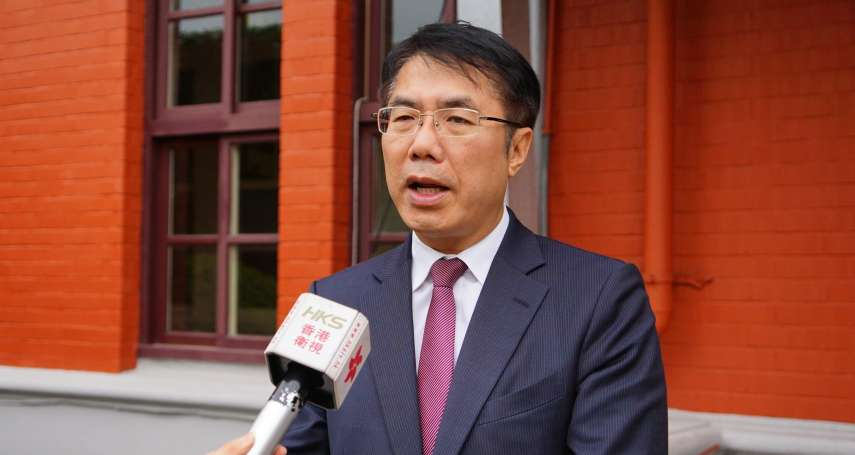 「兩岸交流不必跳過台南」黃偉哲:不排斥到中國大陸推城市行銷、拚經濟觀光