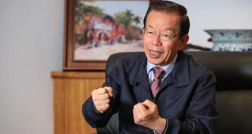 老市長強勢回歸,今晚登台助陳其邁造勢 謝長廷臉書宣布:高雄我回來了!