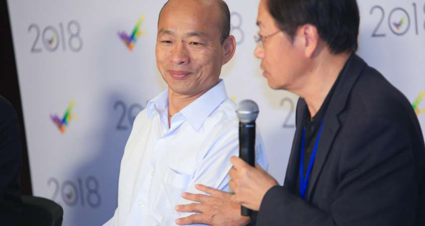 高雄市長辯論會》韓國瑜質疑慶富案 黃國昌:應該先問問吳敦義與國民黨內同志