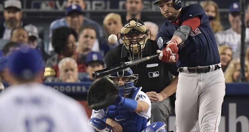 MLB》1年2億續約紅襪 皮爾斯:不需動腦的決定