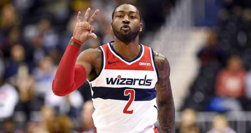 NBA》因傷背負「薪水小偷」罵名 沃爾:我會證明這是爭取來的
