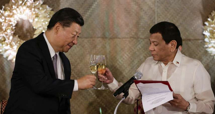 支持台灣捍衛民主? 菲總統府:我們有「那個政策」,不插手兩岸紛爭