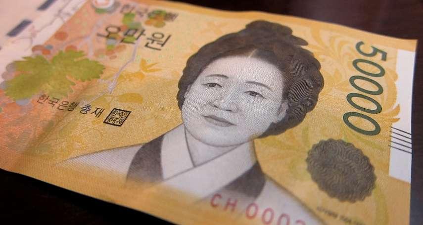 韓國男人心目中最理想的女性,竟是印在鈔票上的她!「背後原因」讓韓國女性氣炸