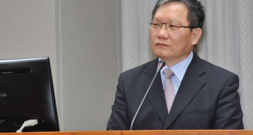 「歡迎台商資金回流」財政部長蘇建榮:國稅局幫你搞定稅事