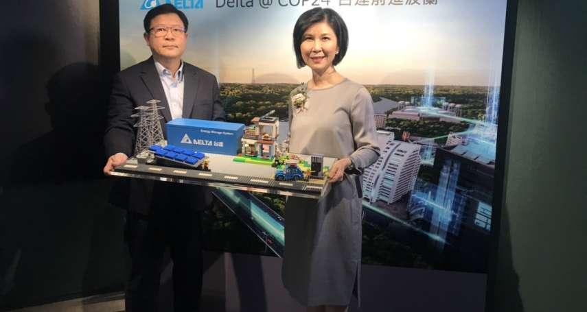 前進聯合國氣候高峰會 台達電邀全球智庫共商打造未來永續城市